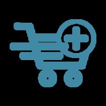 E-shop = katalóg + košík + objednávka